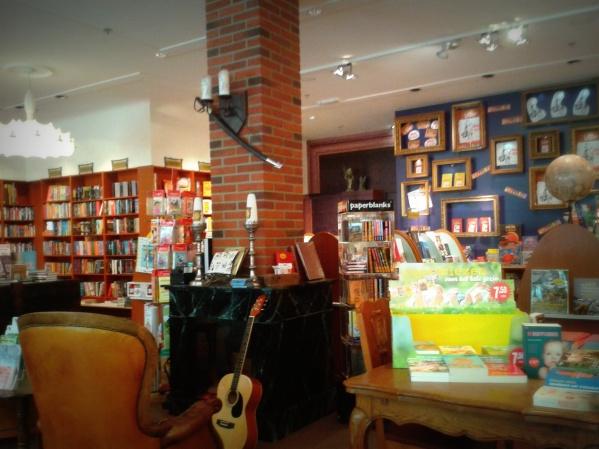 Schattige boekwinkeltjes