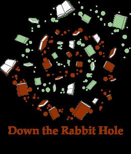 Logo brown text